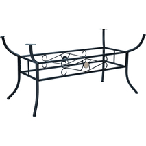 outdoor wrought iron table base YB680808