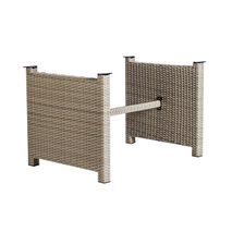 Outdoor rattan table base YBR681601