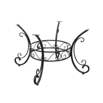 outdoor wrought iron table base YB581053